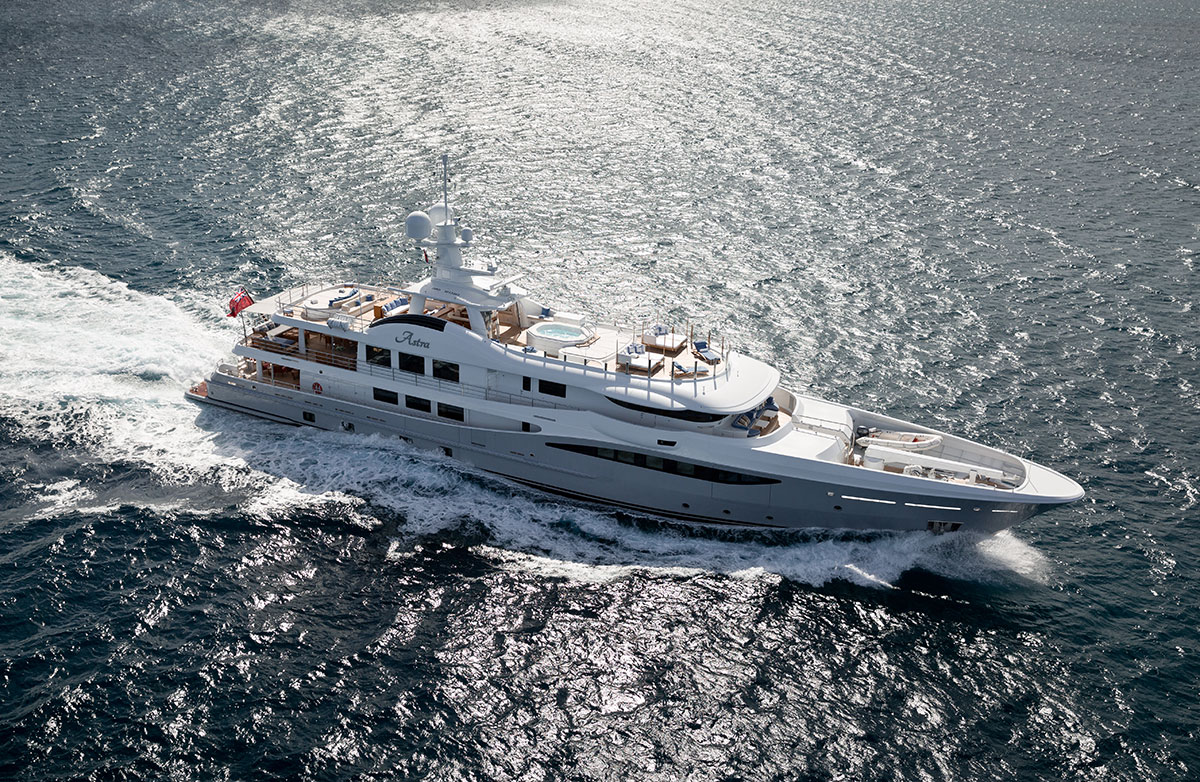 MAKE YOUR CHARTER DREAM COME TRUE ON BOARD ASTRA