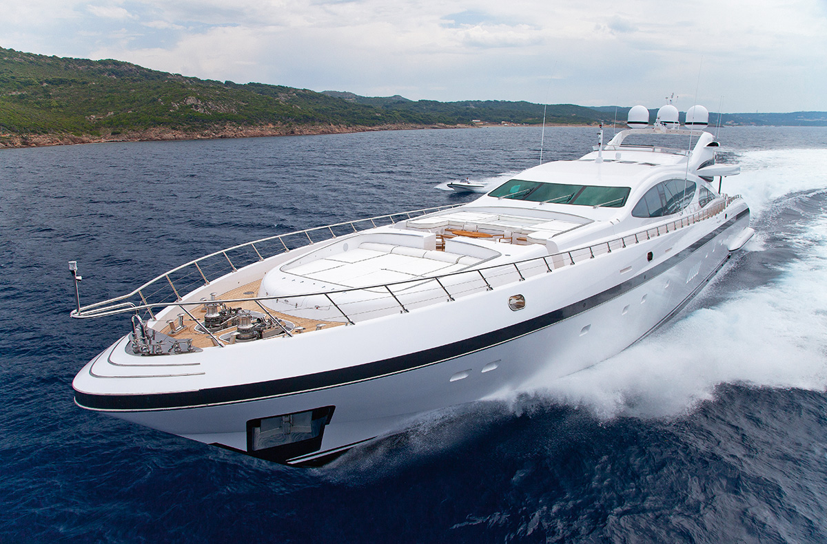 RUSH – MANGUSTA 50M BY IMPERIAL YACHTS