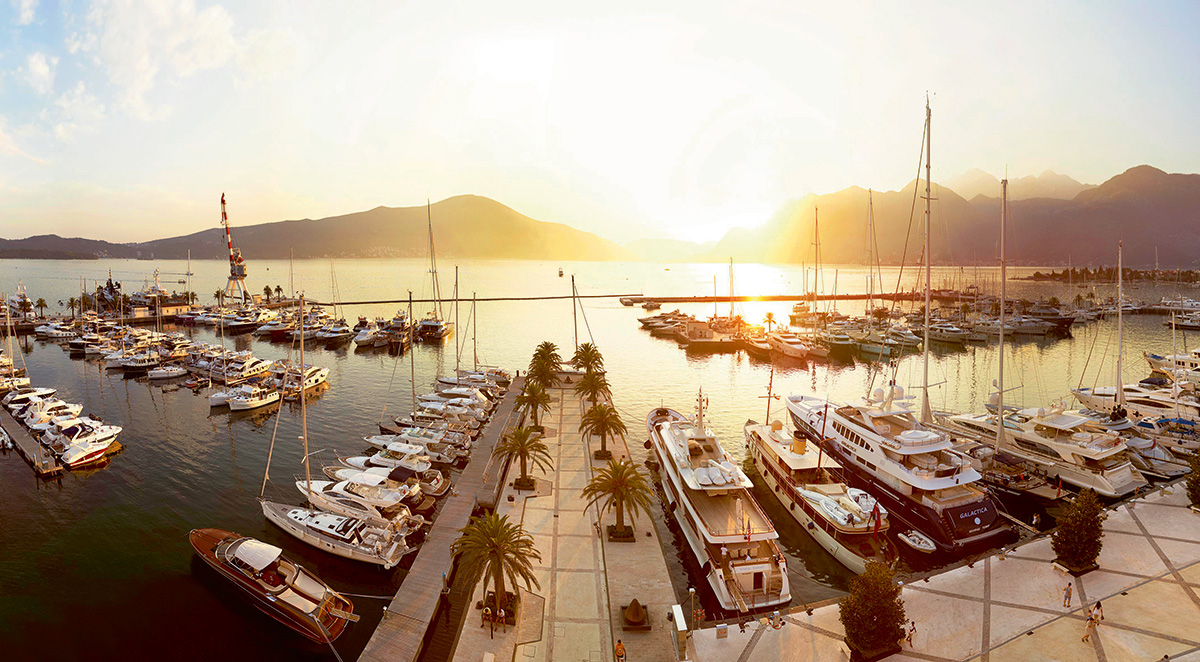 PORTO MONTENEGRO – THE PEPPER IN MY GIN & TONIC