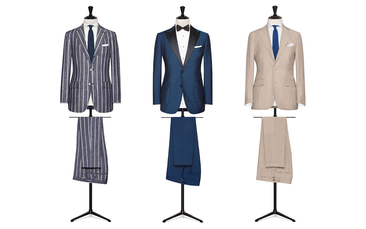 "THE BEST CULT: TO SAY SUIT IS TO SAY ""VESTIBUS"". AN ALL-EMBRACING, TIMELESS PHENOMENON"